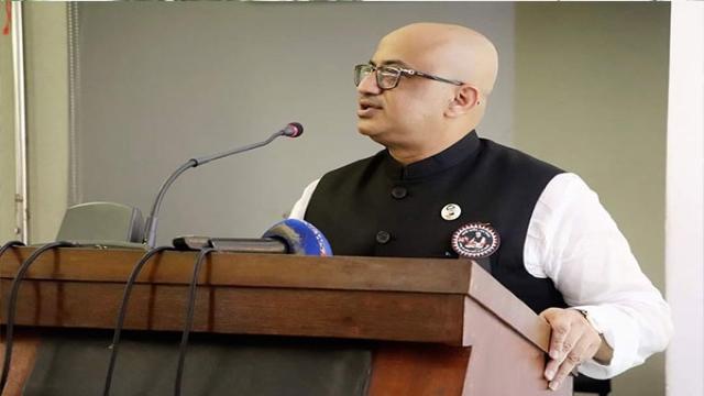 তথ্য ও সম্প্রচার প্রতিমন্ত্রী ডা. মুরাদ হাসান- ছবি: সংগৃহিত