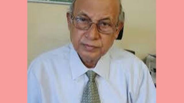 সর্বজন শ্রদ্ধেয় প্রফেসর ড. এম সাইদুর রহমান খান স্যার