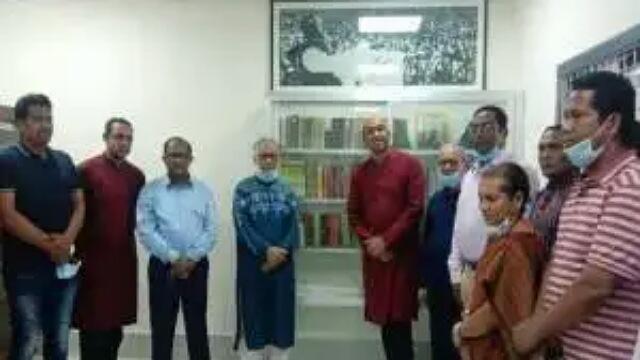 রাবির সোহরাওয়ার্দী হলে বঙ্গবন্ধু কর্ণার উদ্বোধন